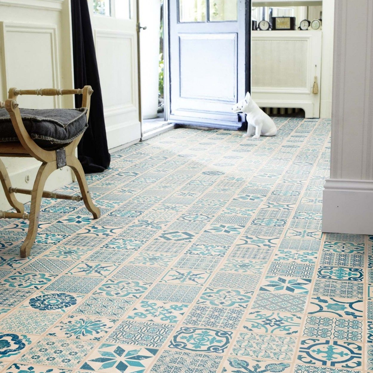 Tarkett Starfloor Click 30 Retro Indigo Kup Teraz Panele Winylowe Click In 2020 Stylish Flooring Vinyl Flooring Interior Tiles