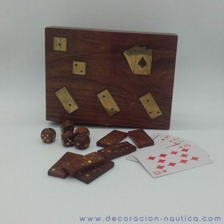 Juego De Domino Cartas Y Dados Juegos De Mesa Pinterest