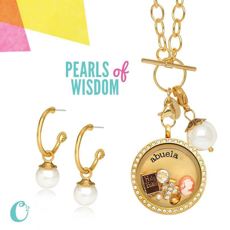 Gold Pearl Earring Dropssit Httpsarahsanders