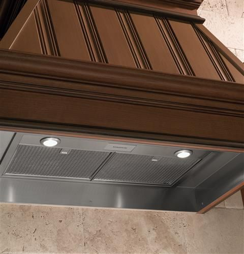 Helps Effectively Remove Smoke Grease Odors And Moisture Halogen Lamp Monogram Appliances Wall Mount Range Hood