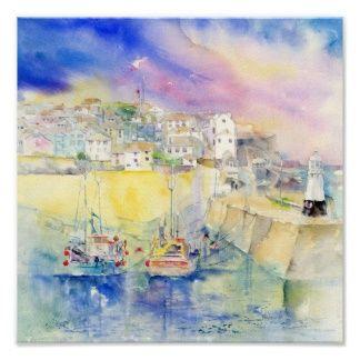 St Ives Cornwall UK Print