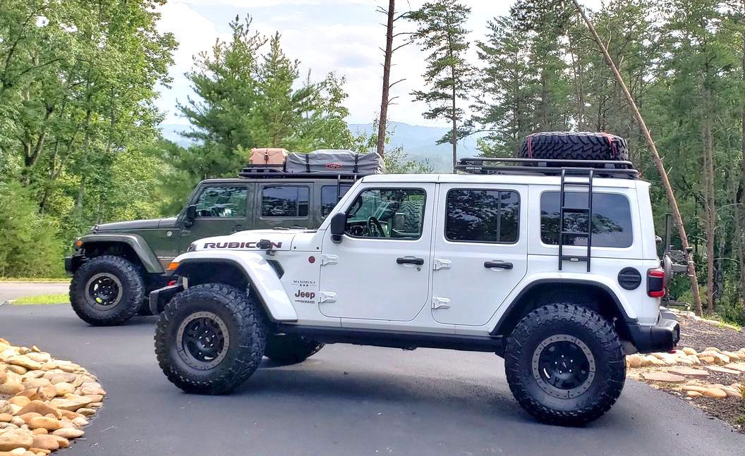 Maximus 3 Jl Roof Rack System With Rhino Rack New Jeep Wrangler