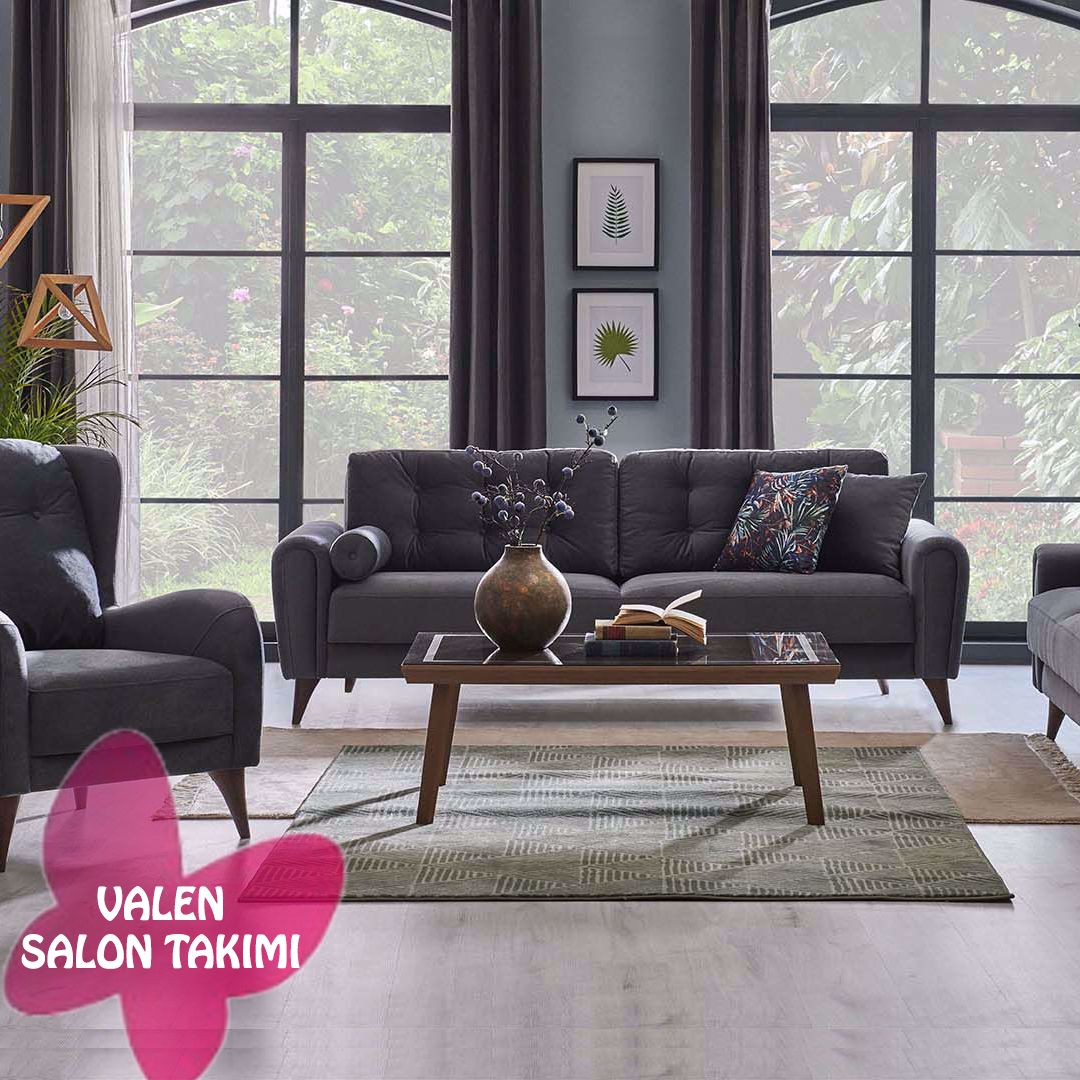 Kelebek Mobilya Valen Salon Takimi In 2020 Home Living Room Home And Living Living Room