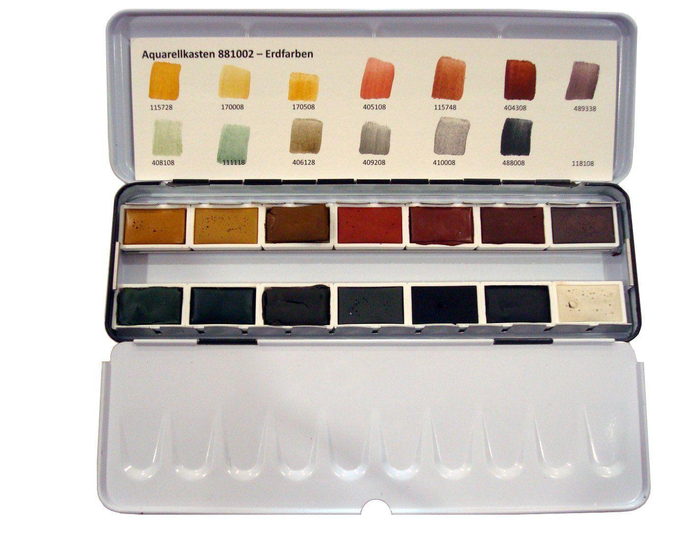 Amazon Com Kremer Pigments Watercolor Set Earth Colors Art