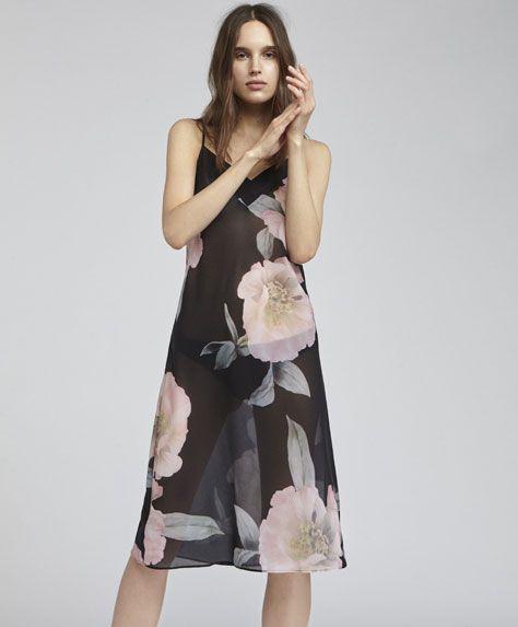 Koszula Nocna W Duze Kwiaty 0 Night Dress Fashion Mini Dress