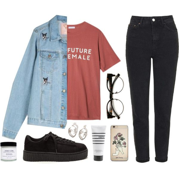Noora by soym on Polyvore featuring мода, StyleNanda, Topshop, ZeroUV, Honey Corn and Pirette