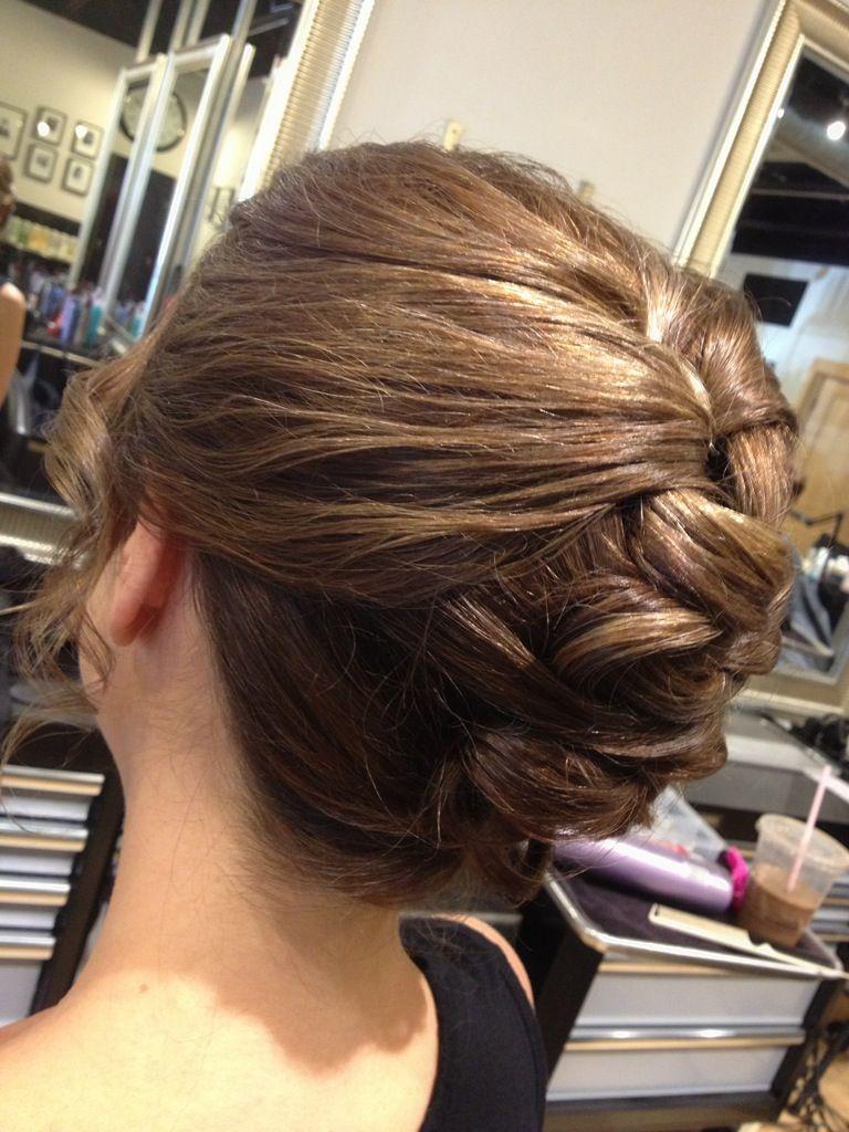 Braideupdo updo hairstyles mywork pinterest updo hair