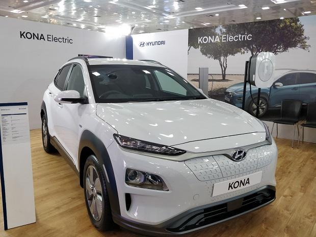 Hyundai launches fully electric Kona SUV in India at Rs 25