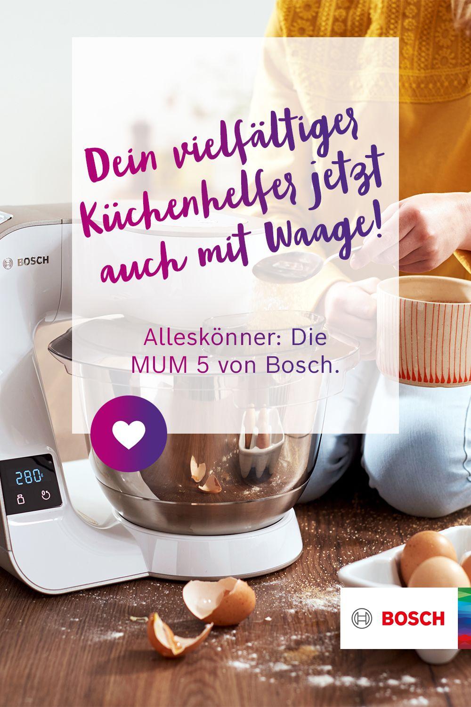 Bosch Küchenmaschine Rezepte 2021