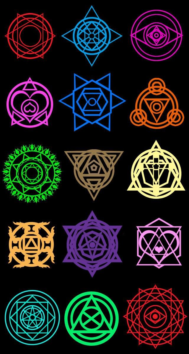 Summoner Saga Magic Circles by moai666 on DeviantArt