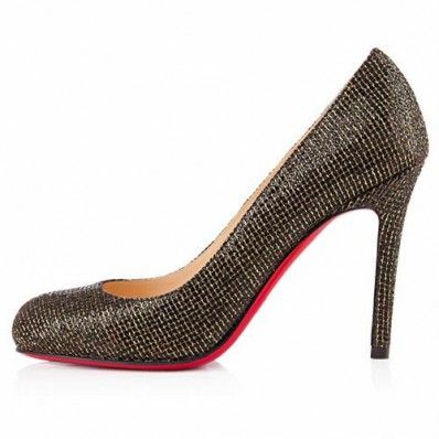 Christian Louboutin Simple 100mm Escarpins Noir
