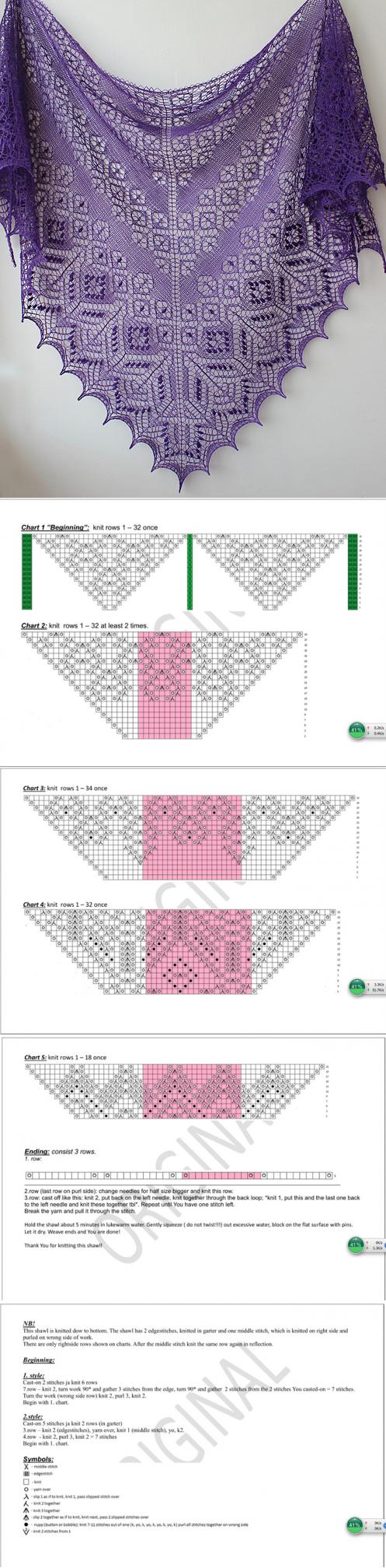 шали палантины шарфы | Chal, Ponchos y Tejido
