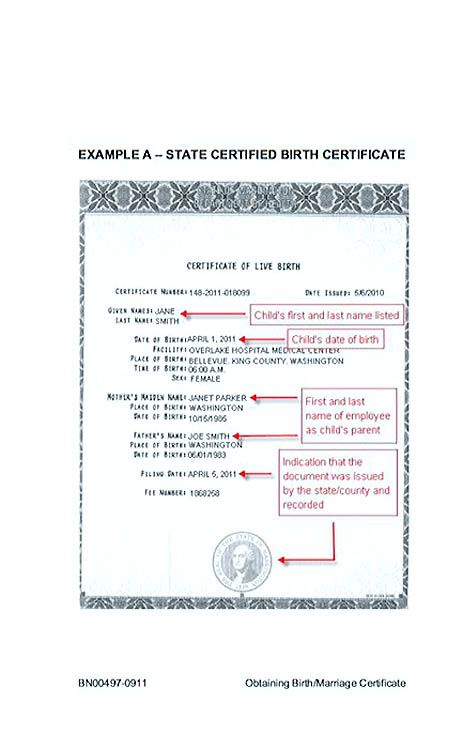 Cute Looking Birth Certificate Template  Birth Certificate