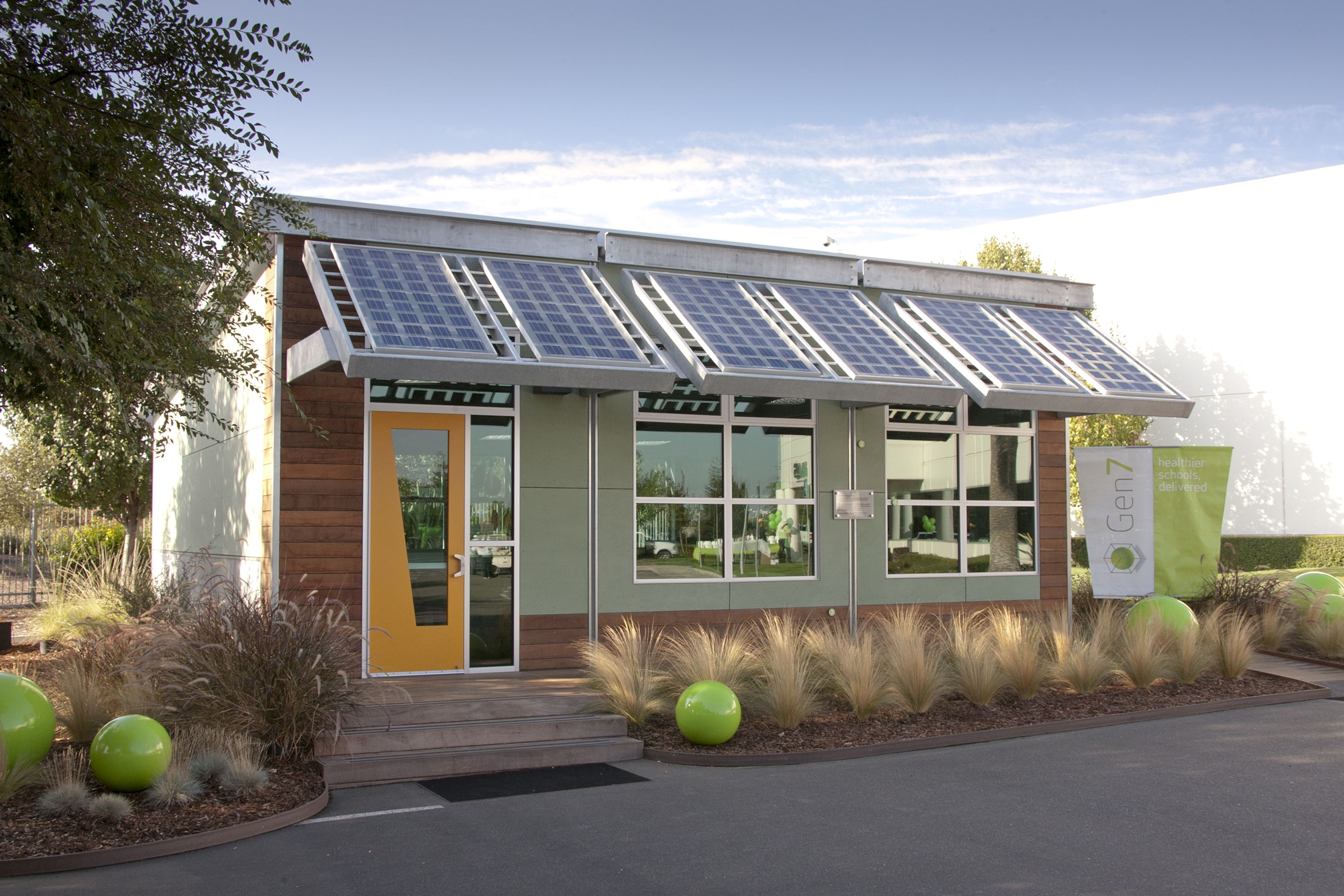 Sage Modular Classroom ~ Gen prefab sustainable schools and classrooms