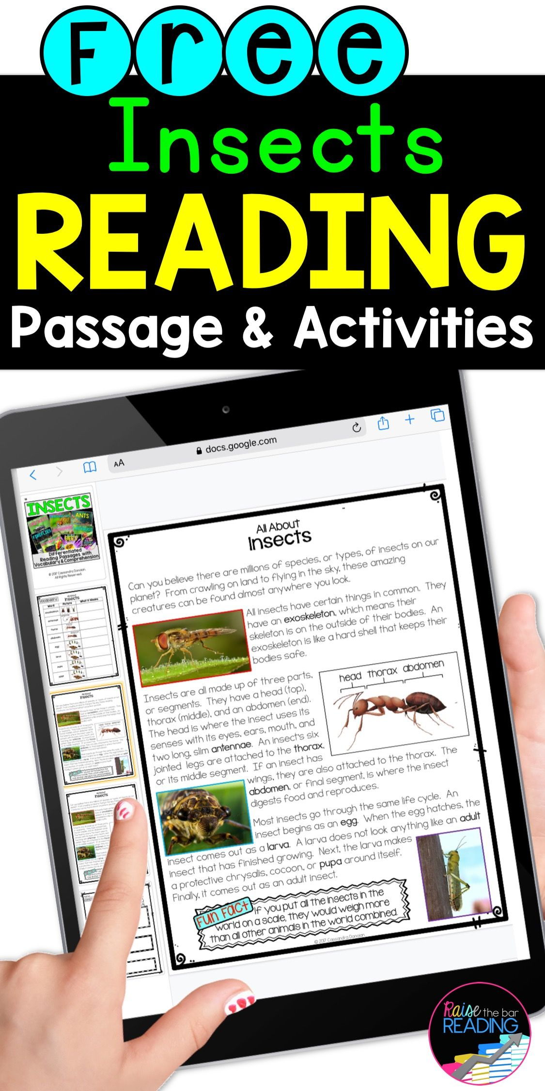 Free Digital Reading Activities Differentiated Reading Reading Comprehension Passages Reading Passages [ 2249 x 1125 Pixel ]