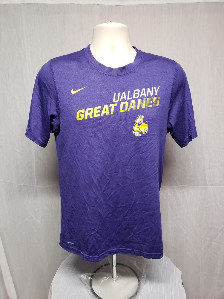 new style e0281 29661 Nike Dri Fit University at Albany UAlbany Great Danes Adult ...