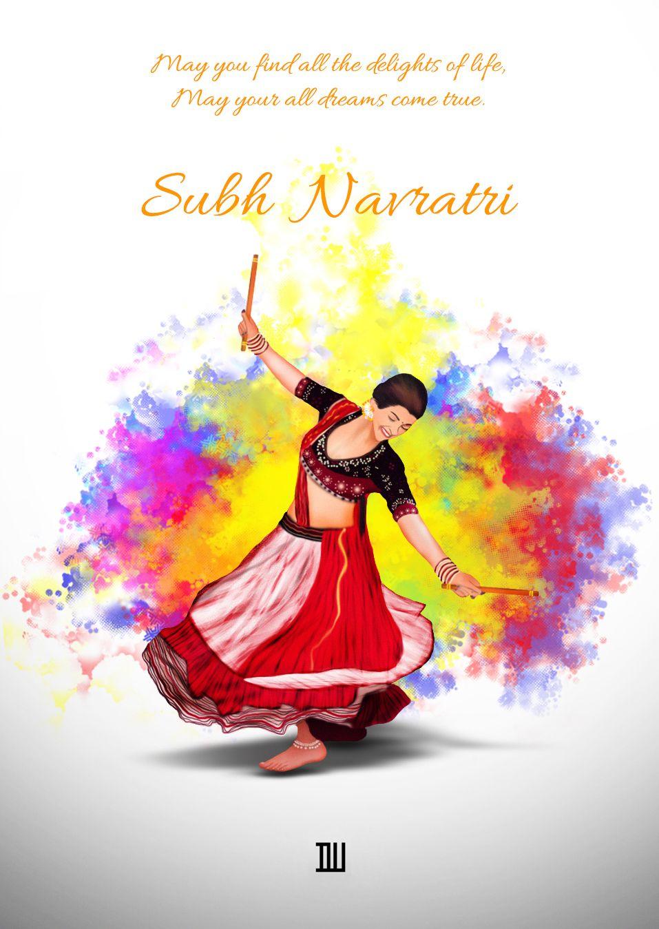 Navratri Greetings Posters Pinterest Navratri Greetings Durga