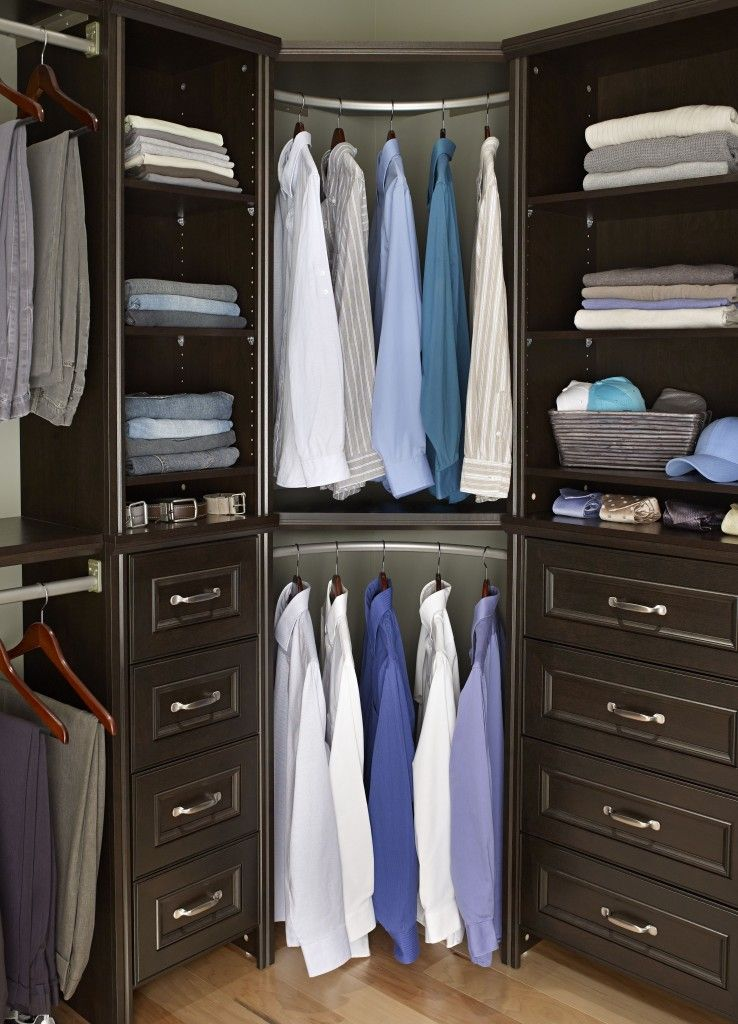 shelf unit and deluxe ideas x corner storage bedroom closet rod