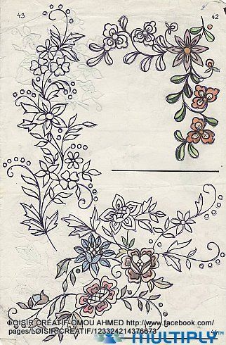 New embroidery designes needle crafts also rh pinterest