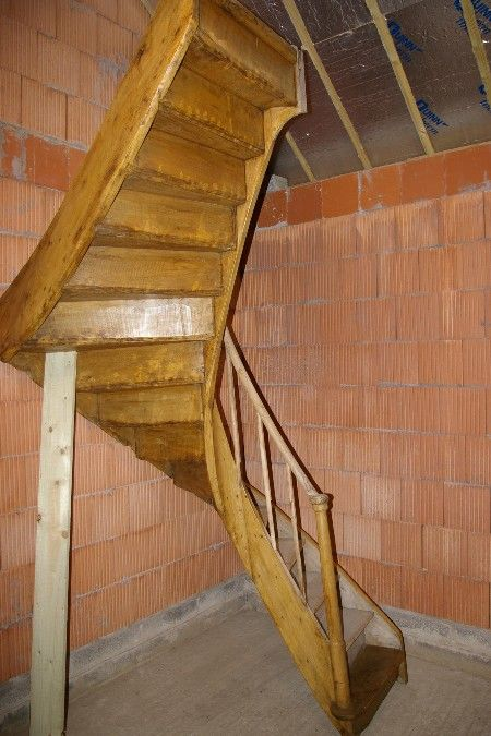 Best Awesome Compact Staircase Rustic Stairs Staircase Stairs 400 x 300