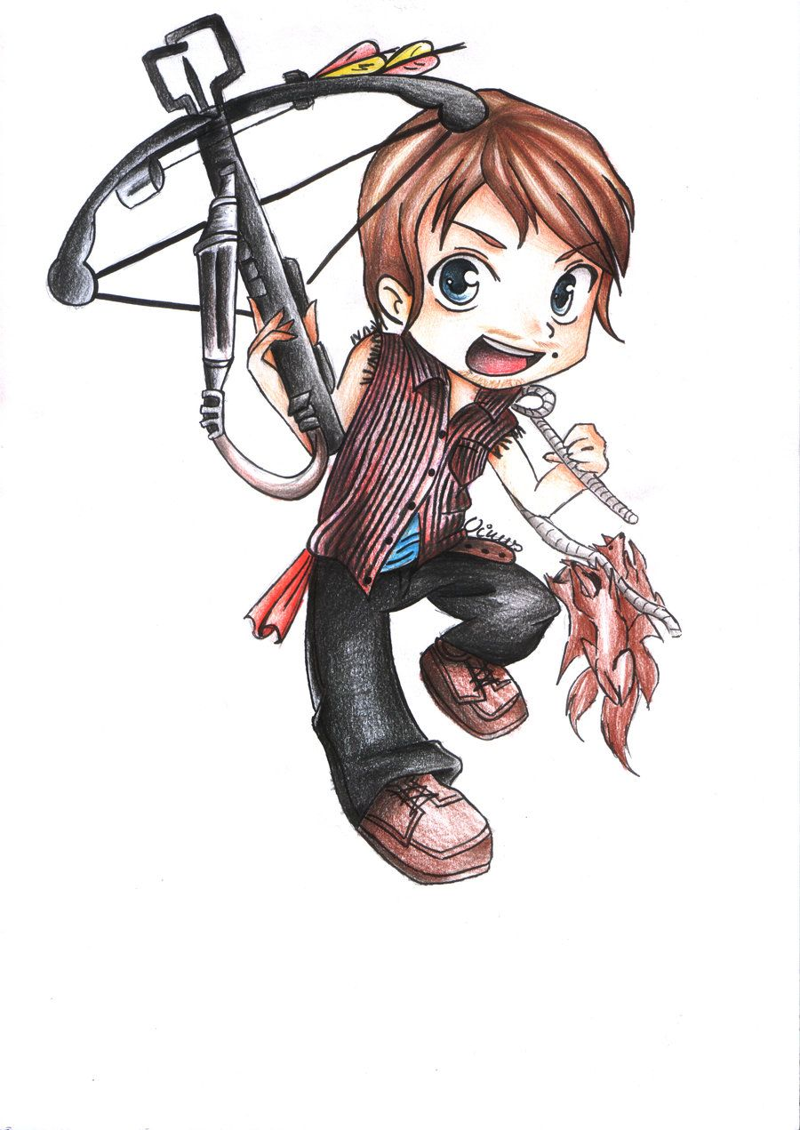 Darly dixon from the walking dead so cute