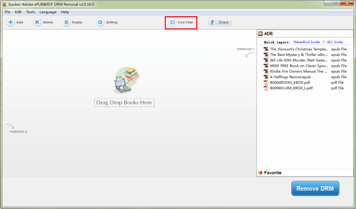 Adobe DRM Removal, Remove Adobe DRM from EPUB/PDF | Read eBooks more