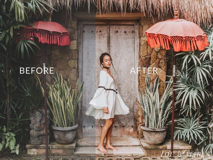 Wonderland Bright, Warm, Vibrant, Blogger Lightroom Mobile