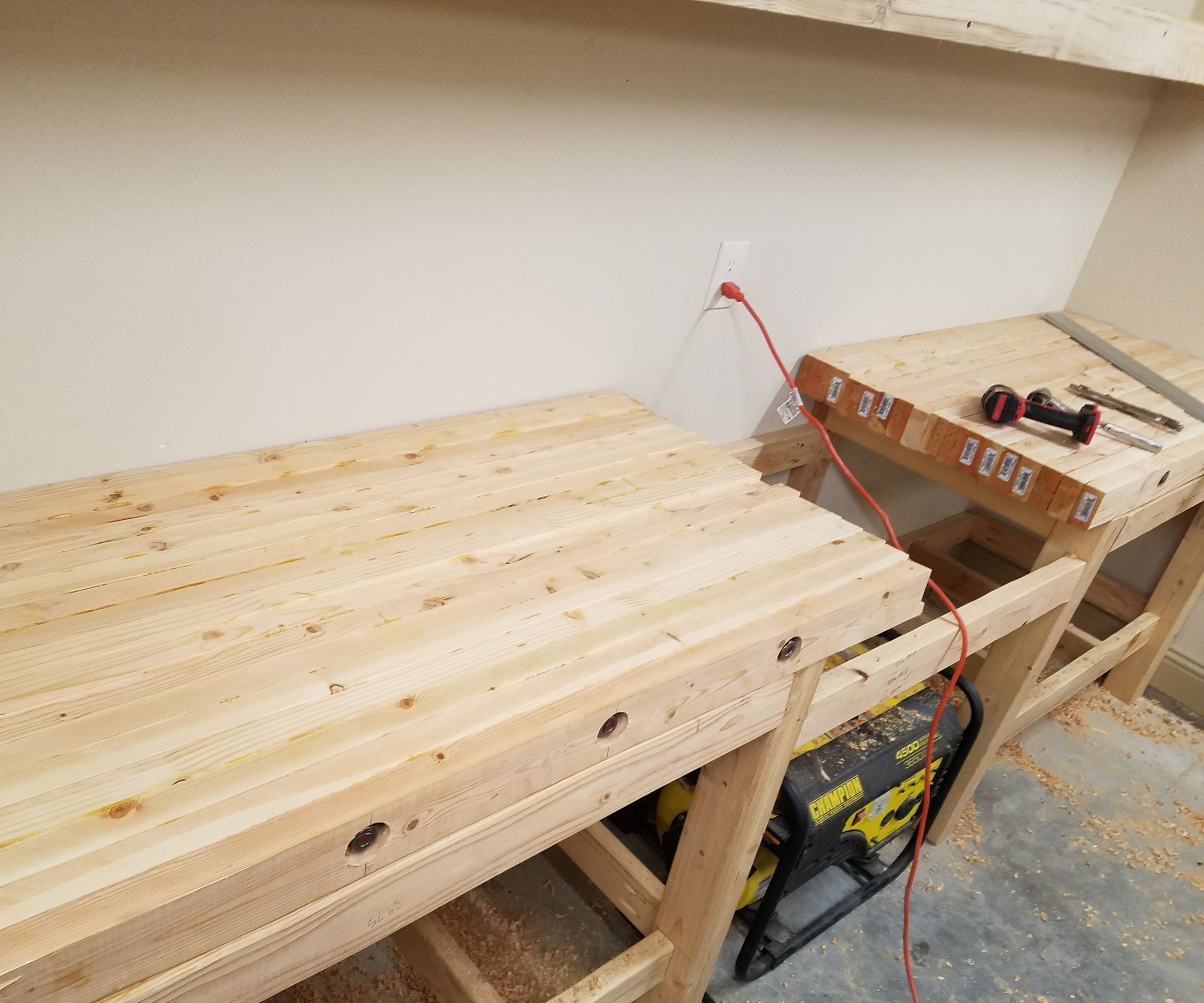 how to create a laminated workbench top | wood projects