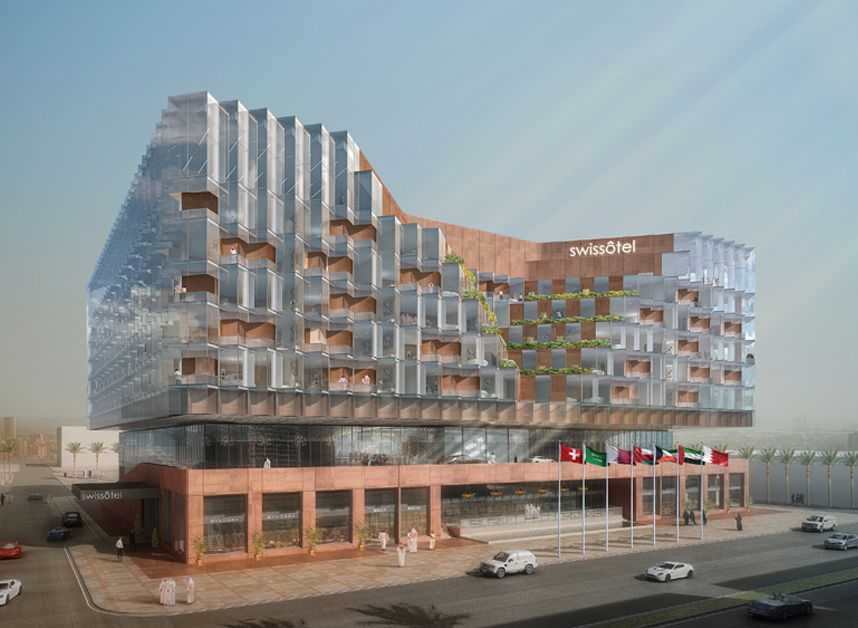 فندق سويسوتيل معتمد شارع فلسطين Architect Photo Wall Rafting