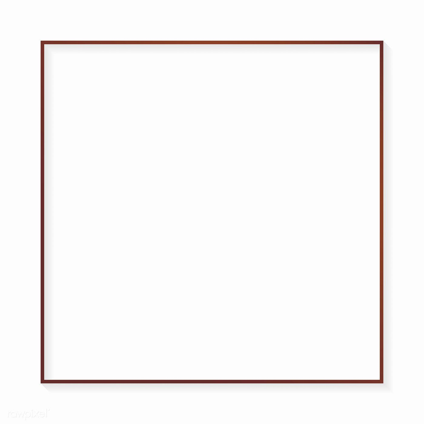 Square Bronze Frame On White Background Vector Free Image By Rawpixel Com Sasi Vector Free White Background Graphic Design Background Templates