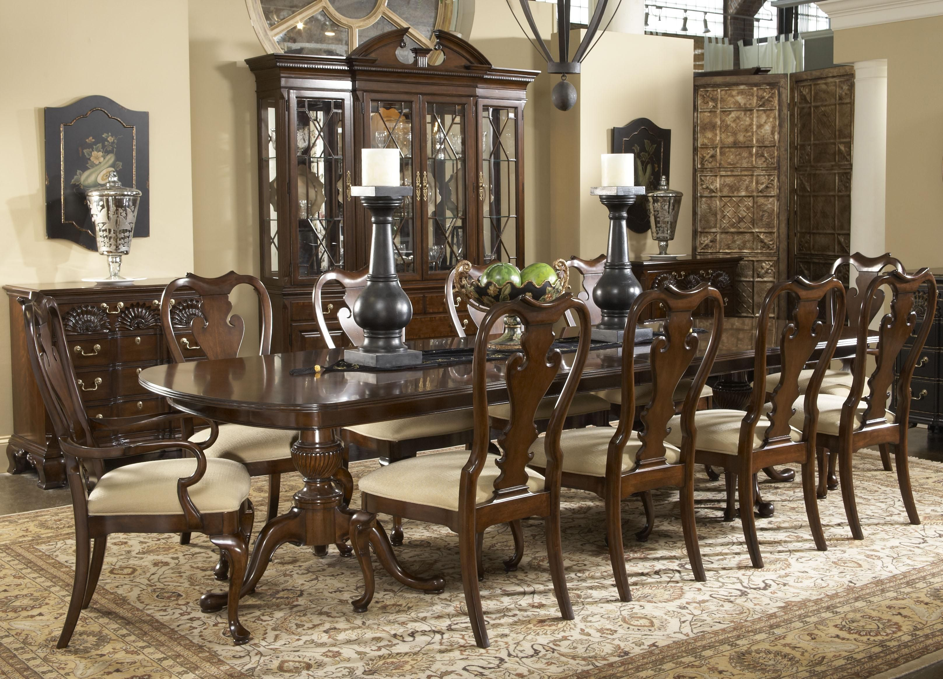 Sketch Of 11 Piece Dining Room Set