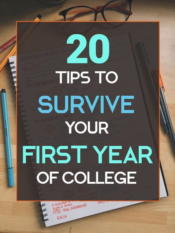 20 Tips To Survive Your First Year Of College | Real life, World ...