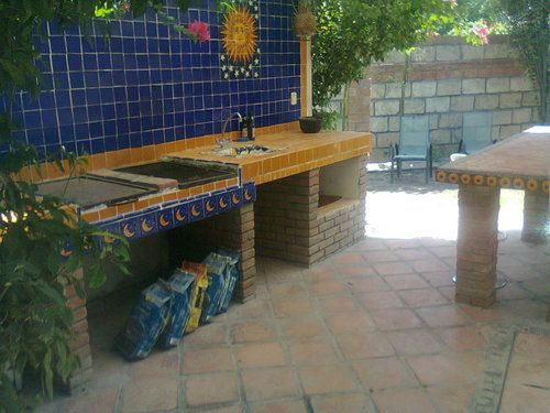 Patio estilo mexicano google search grills pinterest - Patios con estilo ...