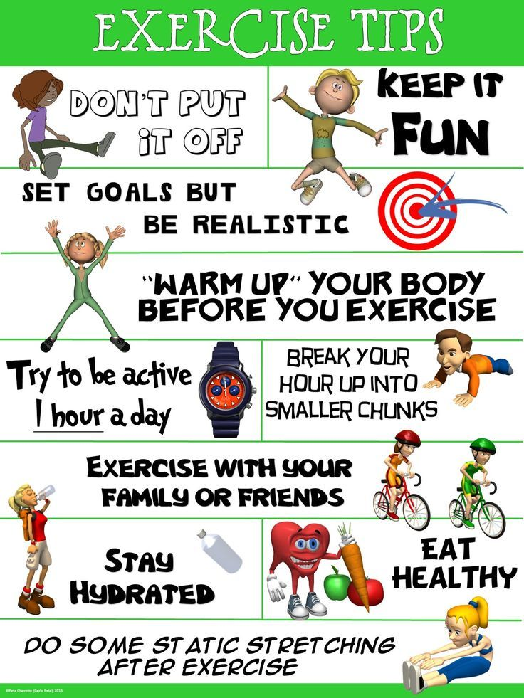 PE Poster Exercise Tips Fitness tips, Physical