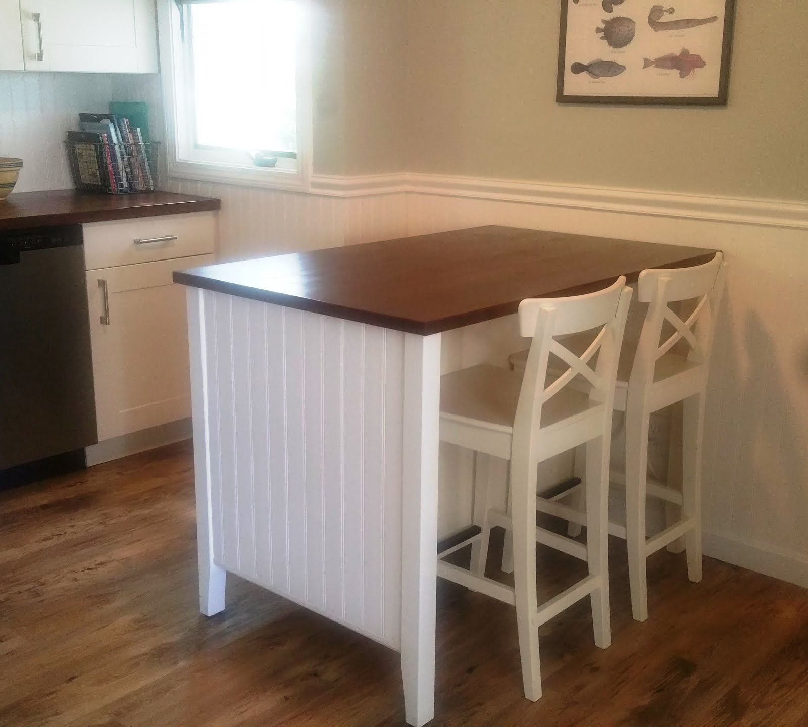 Salt Marsh Cottage: Ikea Kitchen Island Hack …
