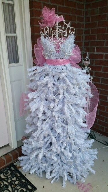 Christmas Tree Mannequin Christmas Tree Dress Dress Form Christmas Tree Mannequin Christmas Tree