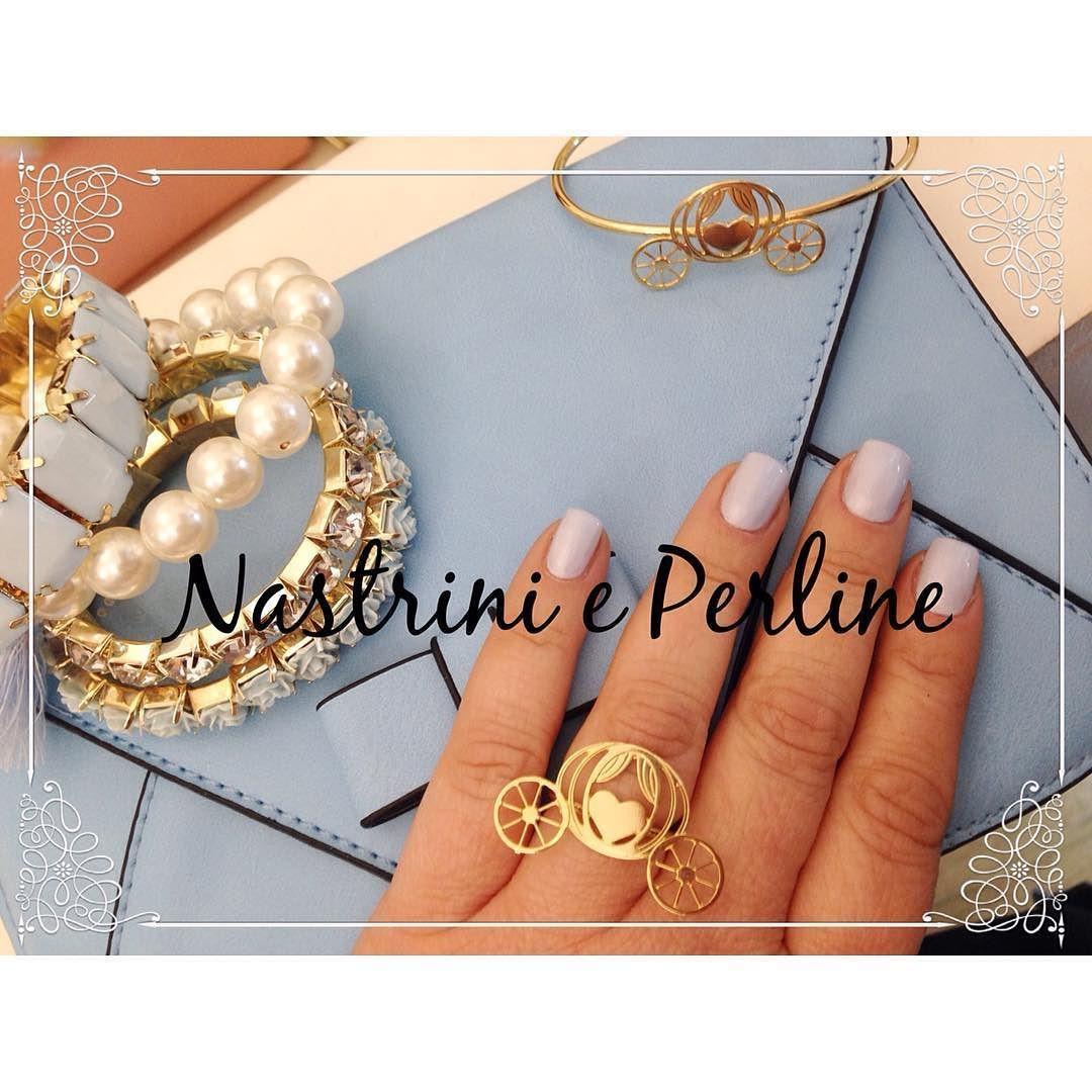 Cinderella Style Mail by @ohmyila #nastrinieperlineshop #frascati #grottaferrata #albanolaziale #stile #shoppingonline #roma  #cuori #fashion #fashionista #fashionstore #fashionblogger #solocosebelle #solocosecarine #cuteshop  #moda #borsa #cinderella #cenerentola #bracciali #nail #nailart carrozza #milanobijoux #shoppingfrascati  #iloveshopping #instafashion by nastrinieperlineshop