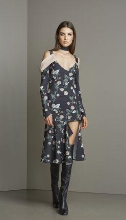 VESTIDO CREPE ESTAMPA  - VE29217-CC | Skazi, Moda feminina, roupa casual, vestidos, saias, mulher moderna