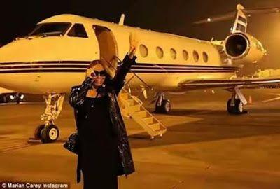 Mariah Carey's Private Jet