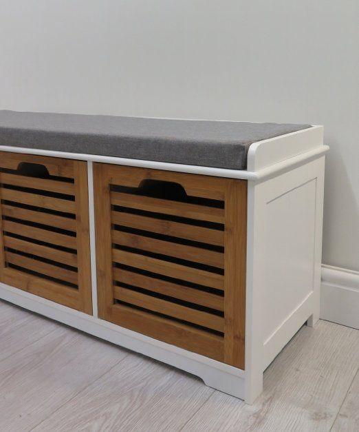 Prime Aspect 105 X 35 X 43 Cm 3 Seater Kendal Wooden Storage Bench Uwap Interior Chair Design Uwaporg