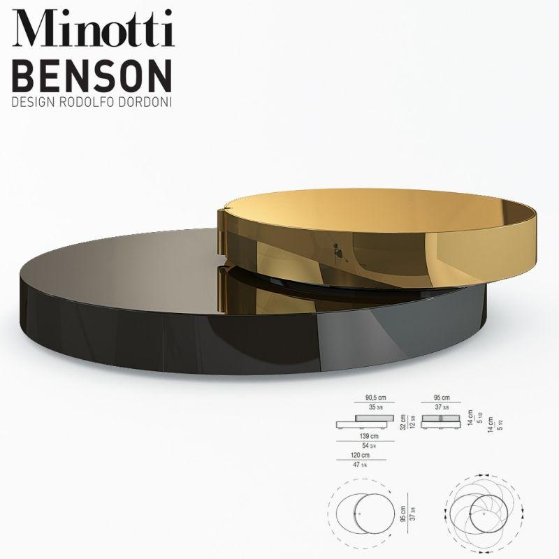 minotti benson 3d model 3d brand model is an online 3d. Black Bedroom Furniture Sets. Home Design Ideas