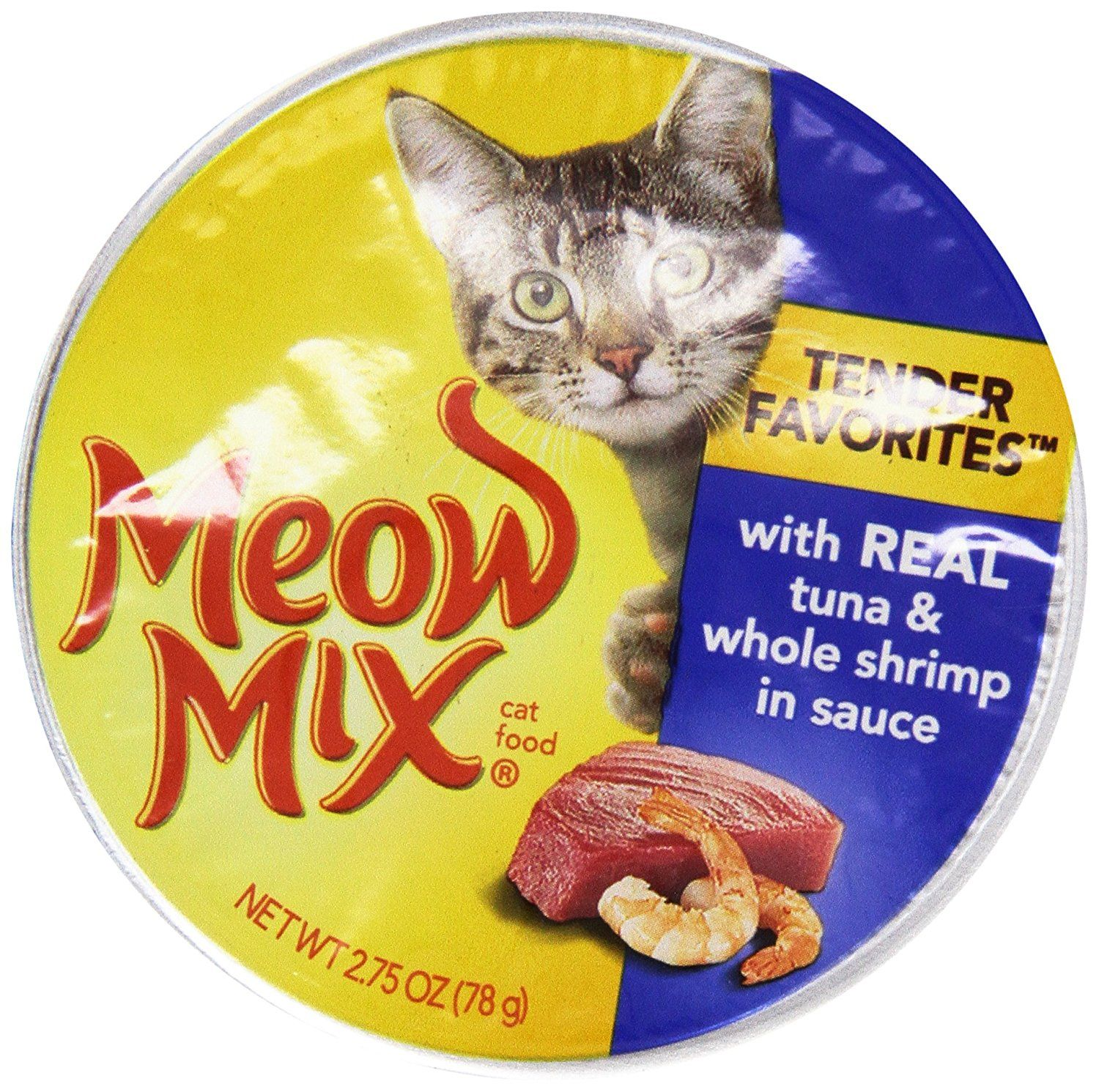 Meow Mix Cat Food, Market Select Tuna and Whole Shrimp, 2