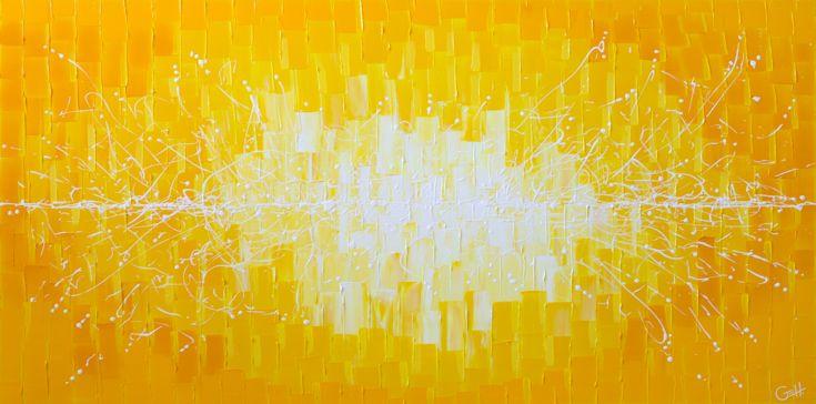 Dive Through the Sun / 60 x 30 / sold