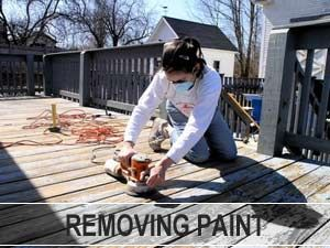 Repainting A Deck How To Remove Paint El Gato Painting Pressure Treated Deck Deck Deck Paint