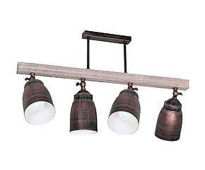 Lámpara metal madera y techo Hadrien de de wengué QWxBoeEdrC