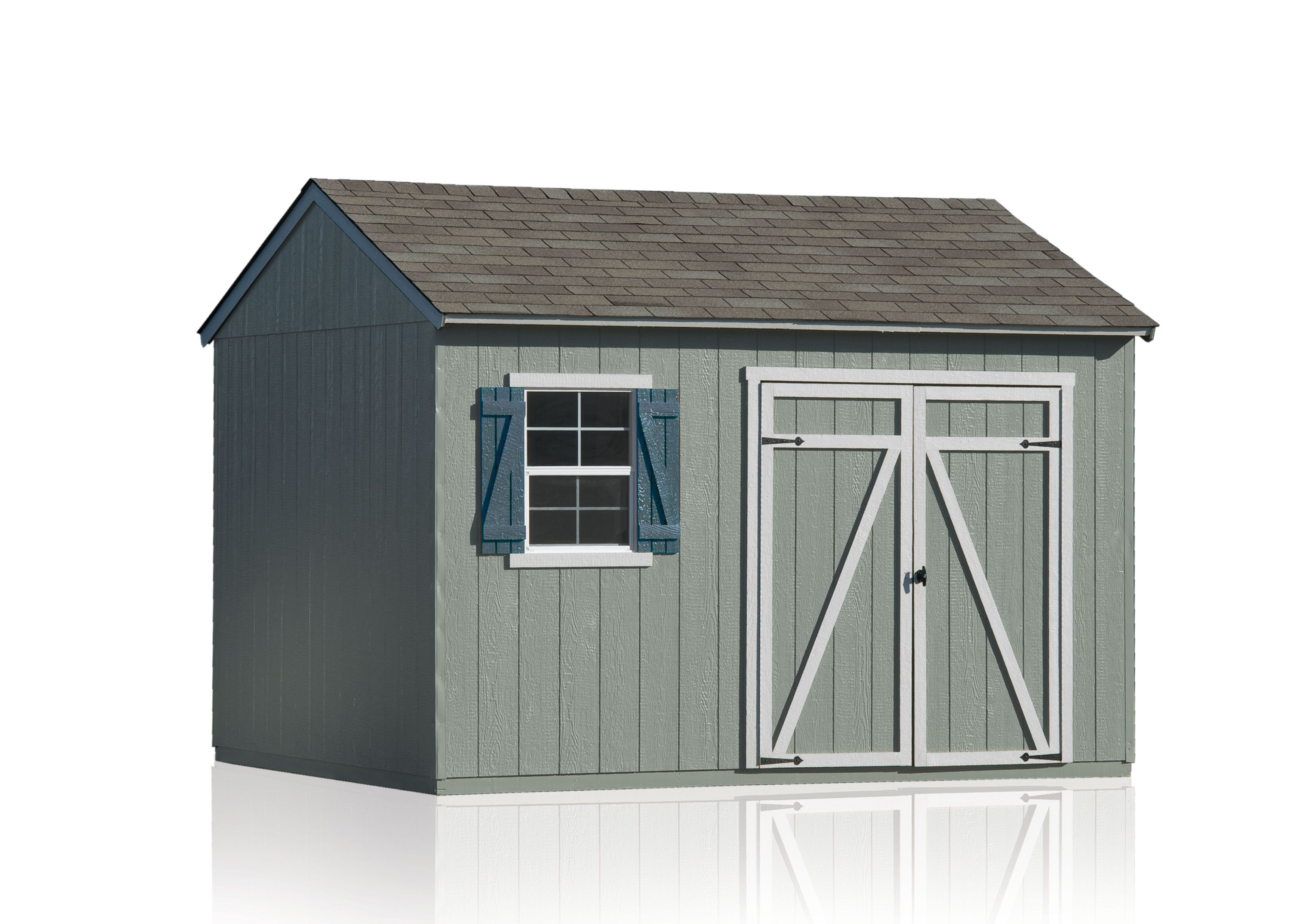 Heartland Common 12 Ft X 10 Ft Interior Dimensions 12 Ft X 10 Ft Gentry Saltbox Engineered Storage Shed Lowes Com Shed Storage Shed Wood Storage Sheds