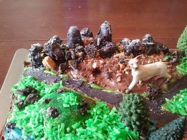 Cooking Crafts Warriors Cat Territories Birthday Cake Warrior Cat