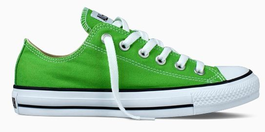 0a95f2b86dcb Lime green Converse is a fun look. Lime green Converse is a fun look Chucks  ...