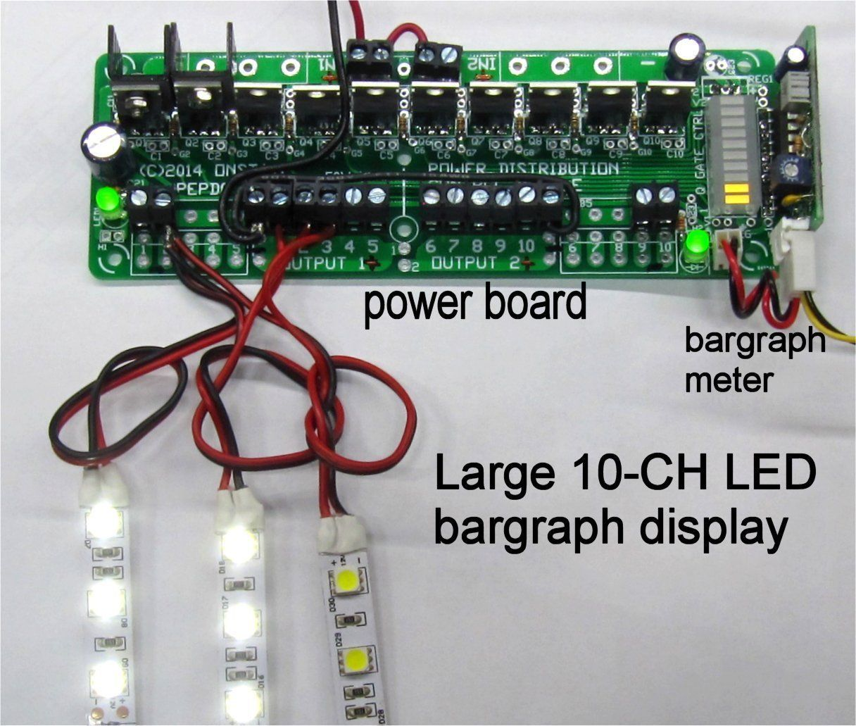 10 Led Bargraph Display Meter Pcb Diy Lm3914 Vu Lm3915 Audio Sound Need Working Schematic Page 2 Diyaudio Op Amp Music Volt In Business Industrial Electrical Test Equipment