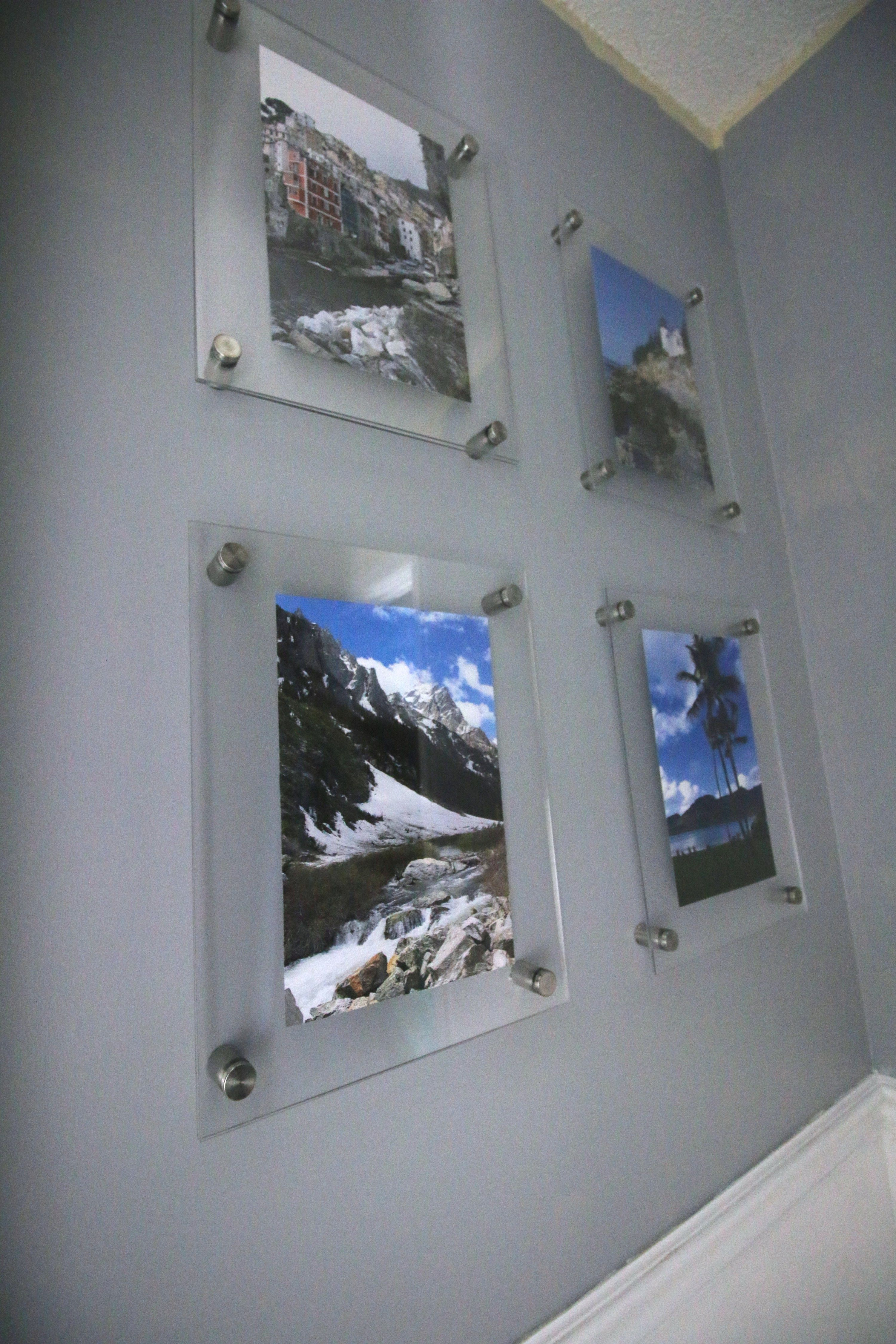 Diy Knock Off Wall Mounted Acrylic Frame Gallery Wall Charleston Crafted Gallery Wall Layout Gallery Wall Frames Gallery Wall